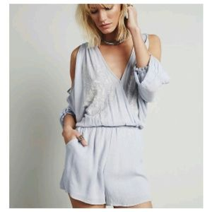 Free People *Love Is All Around Romper*